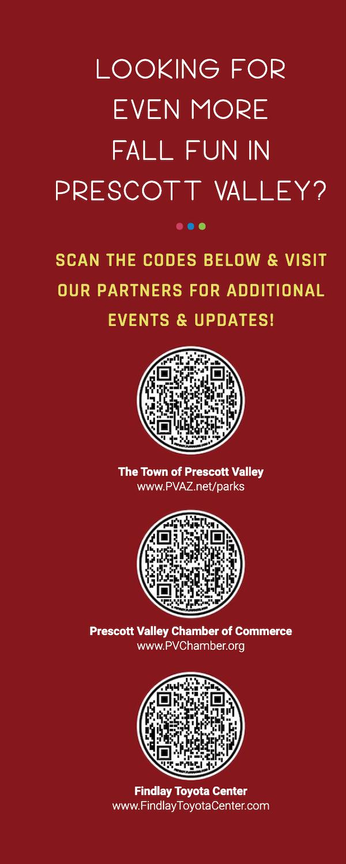 qr code, prescott valley, talking glass media