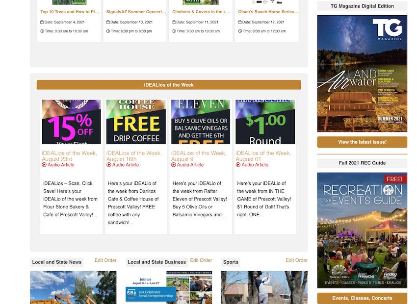 advertising, marketing, Prescott Valley
